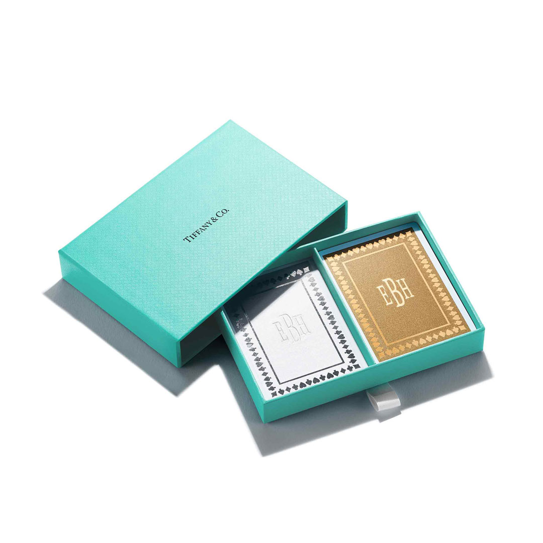 Metallic Playing Cards at Tiffany & Co. 214-378-9800
